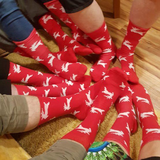 A jsou tu Vánoce a ponožková tradice