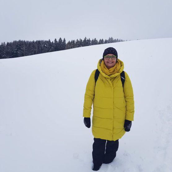 I za Kratunkou bylo hodně sněhu