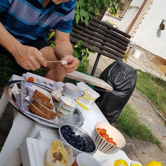 Zdravé ranní občerstvení v Kratunce